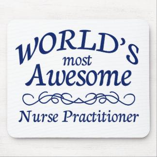 El médico más impresionante de la enfermera del mu alfombrillas de raton