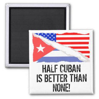 El medio cubano es mejor que ninguno imán cuadrado