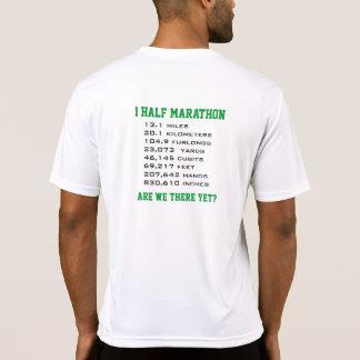 El medio maratón, respeta la distancia camiseta