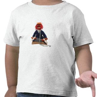 El Meditating animal Camisetas