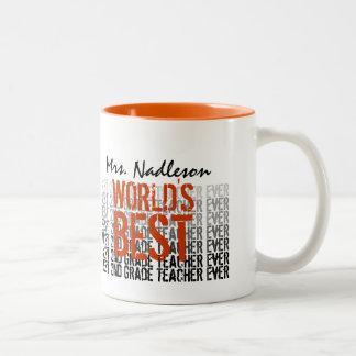 El mejor 2do profesor del grado del mundo añade el tazas de café