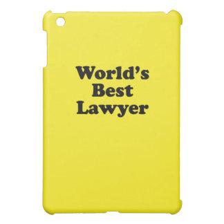 El mejor abogado del mundo iPad mini carcasa