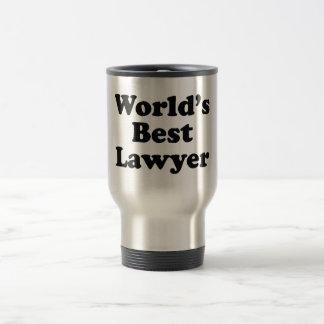 El mejor abogado del mundo taza térmica