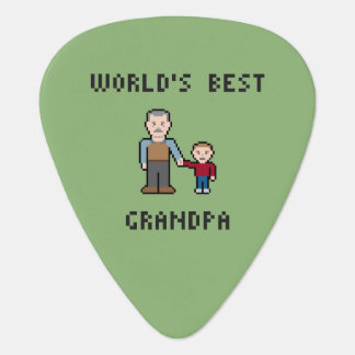 El mejor abuelo de 8 del pedazo mundos del pixel plectro