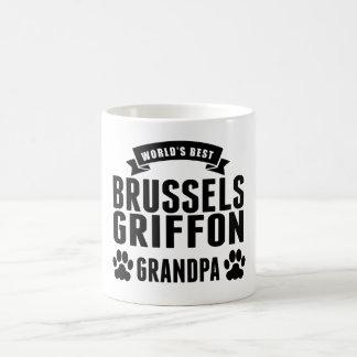 El mejor abuelo de Bruselas Griffon del mundo Taza Mágica
