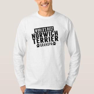 El mejor abuelo de Norwich Terrier del mundo Poleras