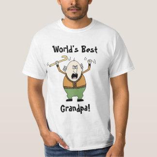 ¡El mejor abuelo del mundo! Camisas