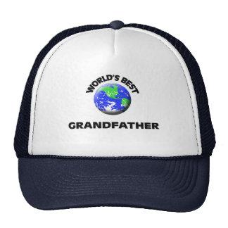 El mejor abuelo del mundo gorras de camionero