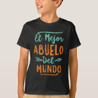 Deja Tu Lo Guapo Soy El Mejor Papa Del Mundo Black T-shirt For Father/'s Day