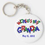 El mejor abuelo del mundo llavero