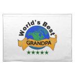 El mejor abuelo del mundo mantel