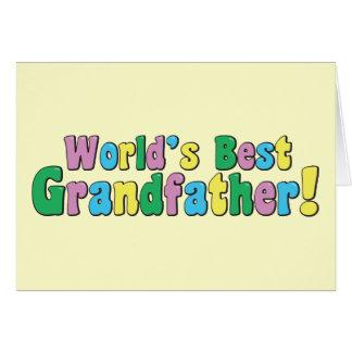El mejor abuelo del mundo tarjetas
