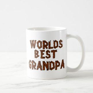 El mejor abuelo del mundo tazas de café
