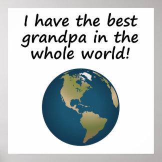 El mejor abuelo en el mundo posters