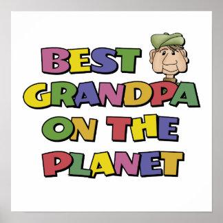 El mejor abuelo en el planeta posters