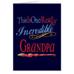 El mejor abuelo nunca felicitación