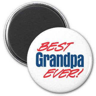 ¡El mejor abuelo nunca! Imanes De Nevera