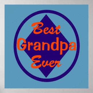 El mejor abuelo nunca posters