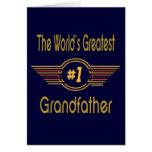 El mejor abuelo nunca tarjetas