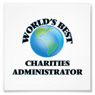 El mejor administrador de las caridades del mundo fotografías