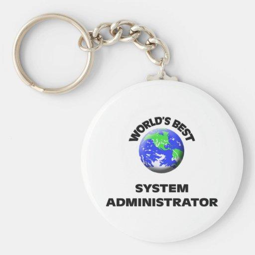 El mejor administrador del sistema del mundo llavero
