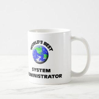 El mejor administrador del sistema del mundo taza