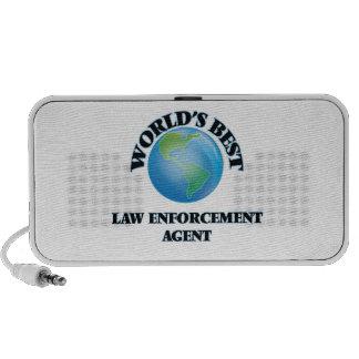 El mejor agente de aplicación de la ley del mundo iPhone altavoz