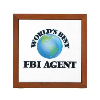 El mejor agente del FBI del mundo Organizador De Escritorio