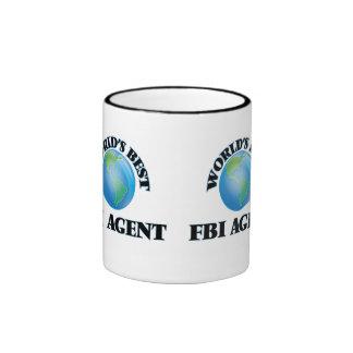 El mejor agente del FBI del mundo Taza De Dos Colores