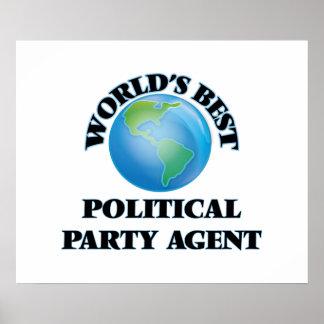 El mejor agente del fiesta político del mundo póster