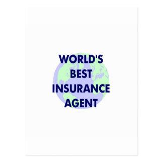 El mejor agente del seguro del mundo postales