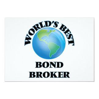 El mejor agente en enlace del mundo invitaciones personalizada