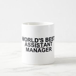 El mejor (al regional) encargado auxiliar del taza de café