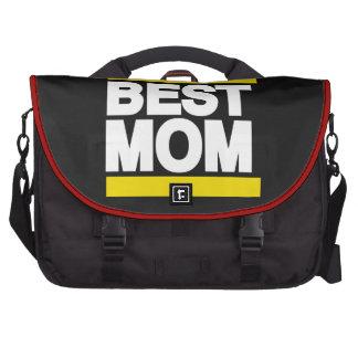 El mejor amarillo de la mamá bolsas de portátil