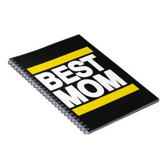 El mejor amarillo de la mamá libro de apuntes con espiral
