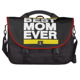 El mejor amarillo de la mamá nunca bolsas para portatil