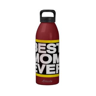 El mejor amarillo de LG de la mamá nunca Botellas De Agua Reutilizables