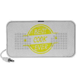 El mejor amarillo del cocinero nunca iPod altavoz