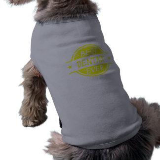 El mejor amarillo del dentista nunca camisas de perritos