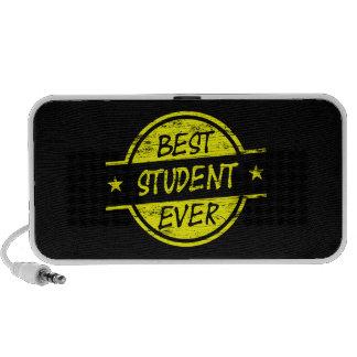 El mejor amarillo del estudiante nunca iPhone altavoces