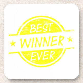 El mejor amarillo del ganador nunca posavasos