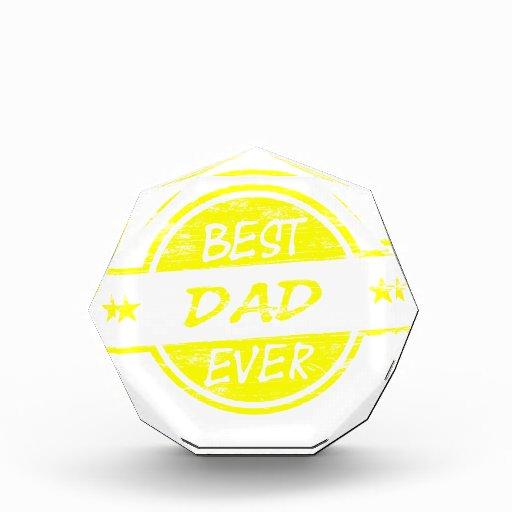 El mejor amarillo del papá nunca