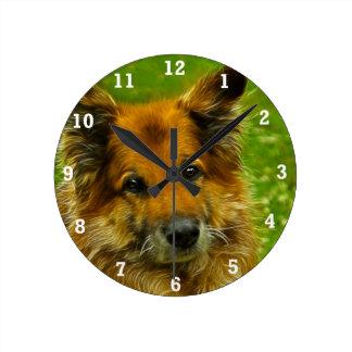 El mejor amigo #2 del hombre reloj redondo mediano