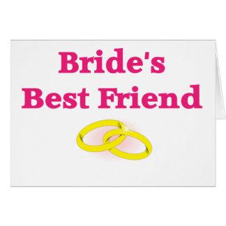 El mejor amigo de la novia felicitación