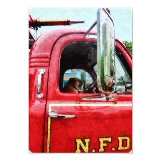 """El mejor amigo del bombero invitación 5"""" x 7"""""""