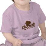 El mejor amigo del chica del chocolate camiseta
