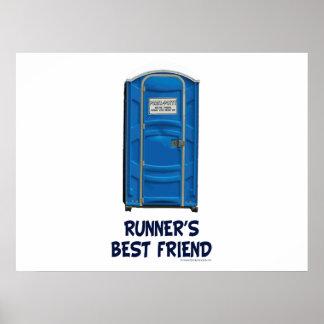 El mejor amigo del corredor posters