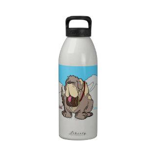 El mejor amigo del hombre botella de agua