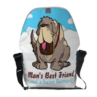 El mejor amigo del hombre bolsa de mensajería