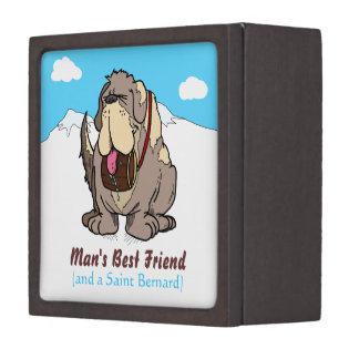 El mejor amigo del hombre caja de regalo de calidad